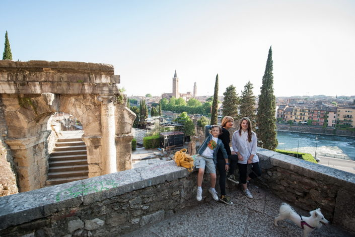 Ritratto bambini book Verona. Fotografo Ritrattista Veronese